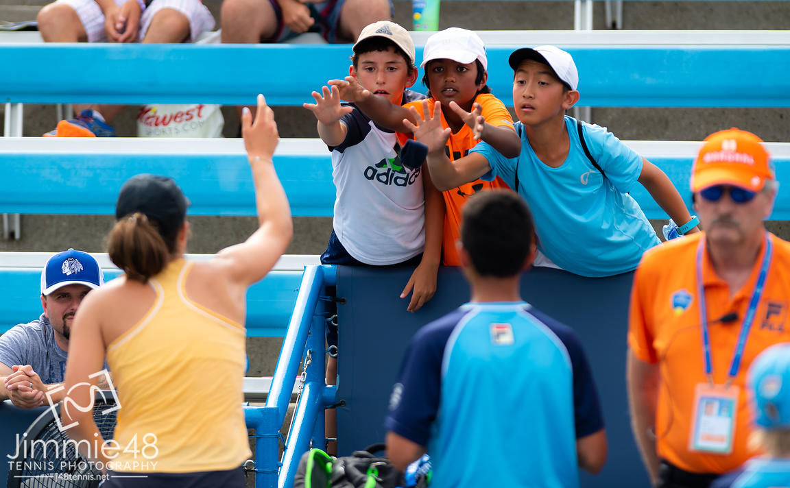 Fans at the 2019 Western & Southern Open WTA Premier Tennis 5 Tournament